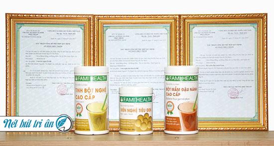 Mầm đậu nành FAMI là một trong số những mầm đậu nành hàng đầu hiện nay