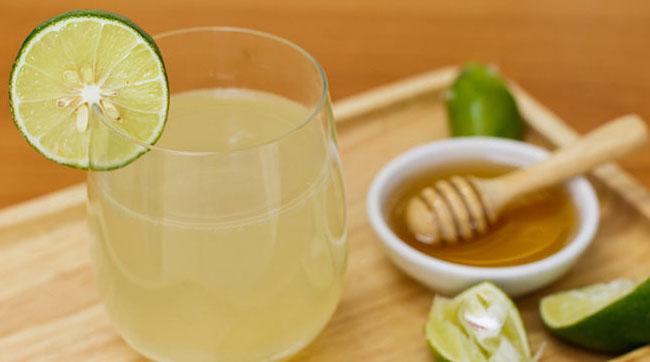 Hãy uống nước chanh mật ong đúng liều lượng